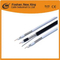 Factory Rg Coaxial Cable 61.02mm Cu ، 4.8mmfpe ، لهوائي CCTV CATV