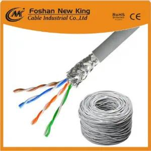 FTP / UTP Cat5e LAN Cable Network Cable 4X2X0.5mm Bc Pass Fluke Tia Channel Test